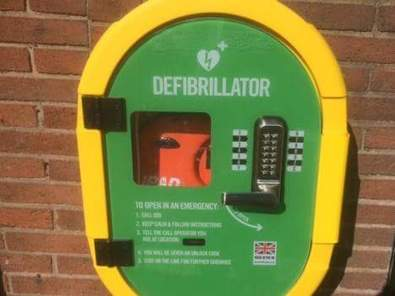The defibrillators at the clock tower and the community and sports building are now registered with the ambulance service and are fully operational.